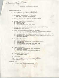 Suggested Bicentennial Projects for 1975-1976