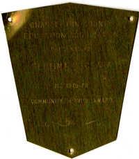 Plaque, 1975-76