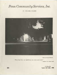 Penn Community Services, Staff and Board Member Directory, 1974