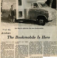 The Bookmobile is Here