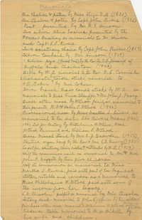 Memorials, Page 1
