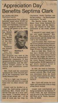 Newspaper Article, June 24, 1986