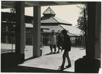 Students Walking on University of California, Santa Cruz Campus