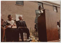 Lonnie Hamilton, Septima P. Clark Day Care Center Ceremony, May 19, 1978
