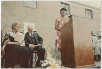 Bernice Robinson, Septima P. Clark Day Care Center Ceremony, May 19, 1978