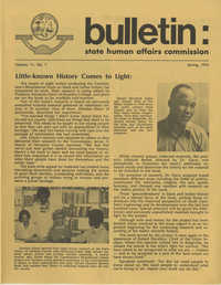Bulletin: State Human Affairs Commission, Spring 1976