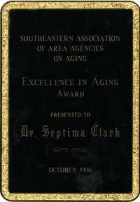 Plaque, October 1986