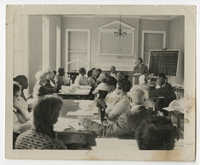 Septima P. Clark Teaching Class of Adults, Liberty County, Georgia