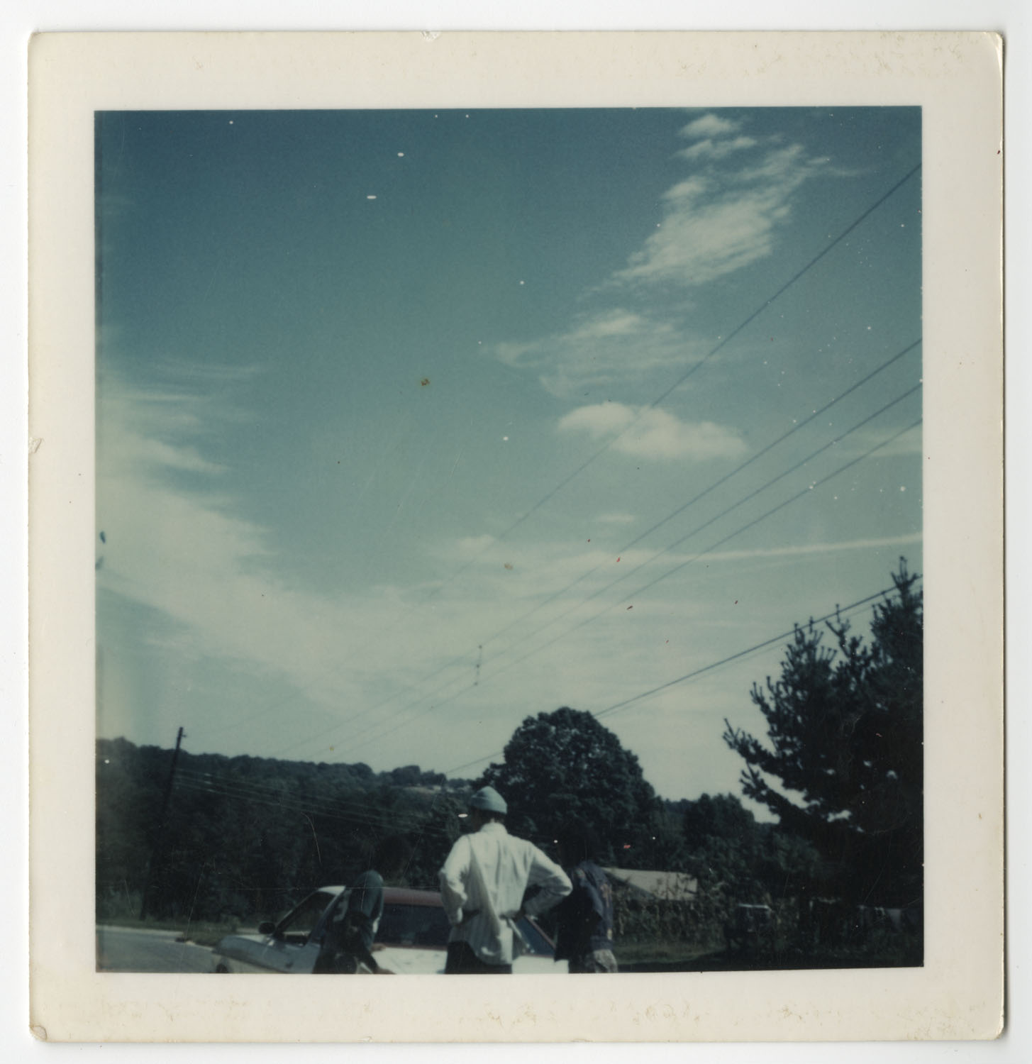 Man Standing by Cumberland Mountain, Tennessee