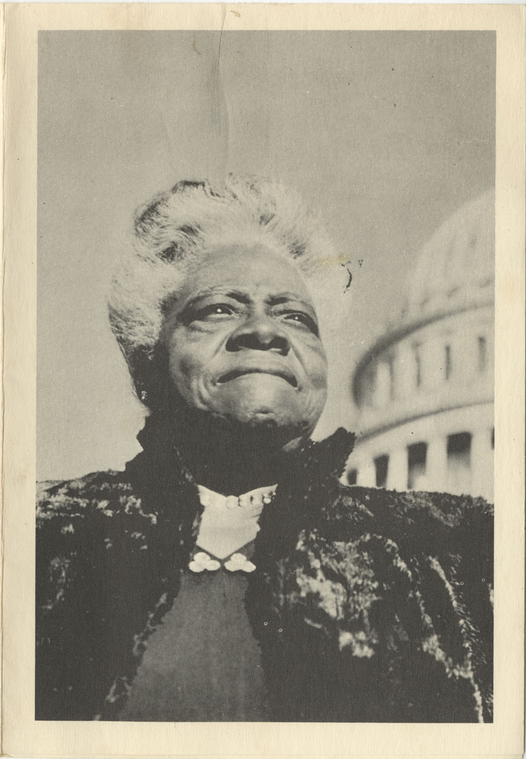Invitation to Mary McLeod Bethune Memorial, July 19, 1974