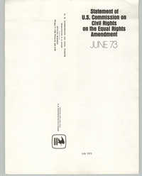 Statement on U.S. Commission on Civil Rights on the Equal Rights Amendment, June 1973