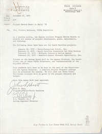 Letter from John Hurt and B. I. Cheney, Jr. to Bernice Robinson, December 17, 1971