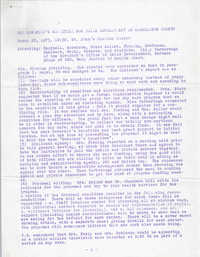 Minutes, Governor's Committee For Child Development in Charleston County, March 28, 1973