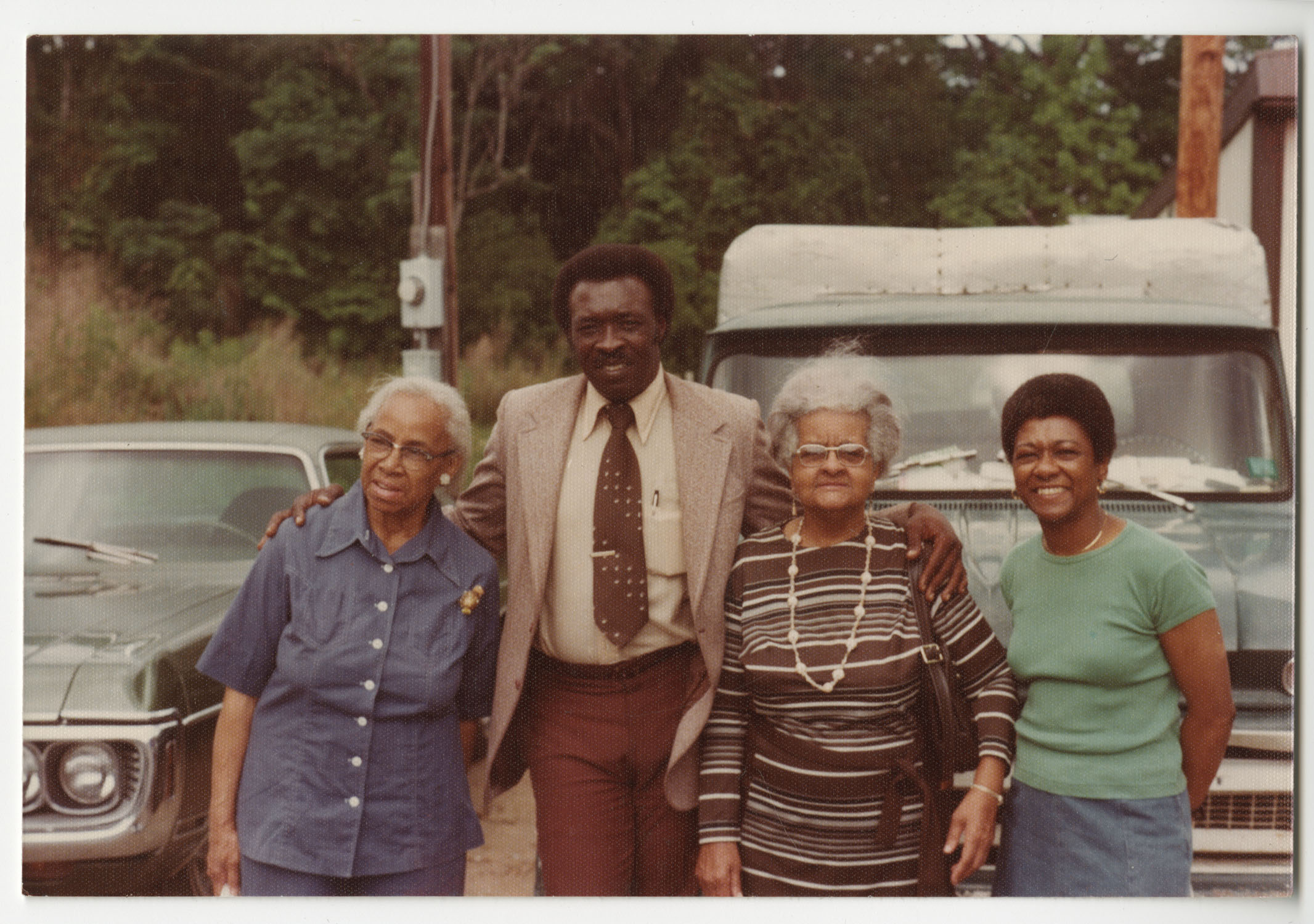 Septima P. Clark with Others, 1976