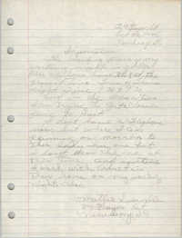 Letter from Mattie Swindler to Bernice Robinson, October 22, 1965