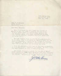 Letter from J. Arthur Brown to B. F. Sumpter, December 31, 1965