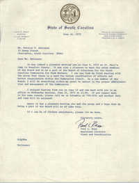 Letter from Paul L. Ross to Bernice V. Robinson, June 16, 1971