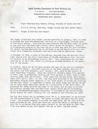 Memorandum from Ellis M. Gillum to Gray Temple, April 1971