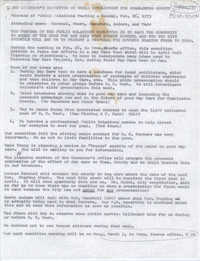 Minutes, Governor's Committee For Child Development in Charleston County, February 26, 1973