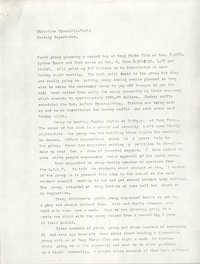 VISTA Monthly Report, October 1972
