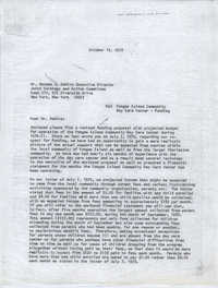 Letter from Bernice V. Robinson to Norman E. DeWire, October 13, 1970