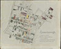 Map of the Ansonborough Rehabilitation Project