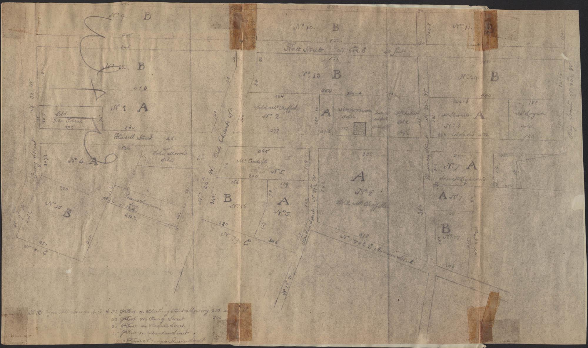 Ansonborough map
