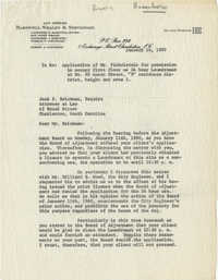 Letter from Nathaniel L. Barnwell to Jack P. Brickman