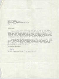 Letter from Gillie Campbell Terry to Esau Jenkins, May 6, 1969