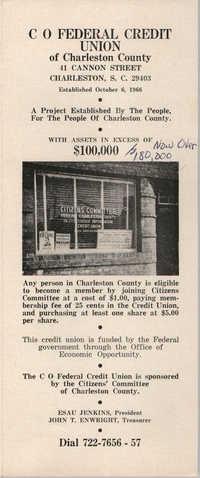 C O Federal Credit Union of Charleston County