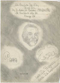 Pencil Drawing of Esau Jenkins