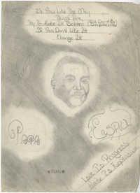 Pencil Drawing of Esau Jenkins