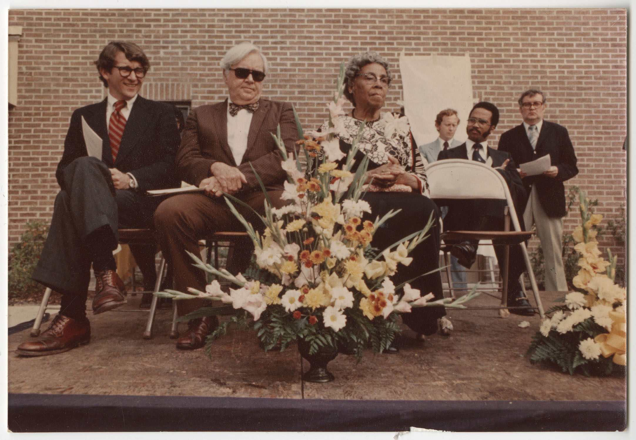 Mayor Joseph P. Riley, and Others, Septima P. Clark Day Care Center Ceremony, May 1978