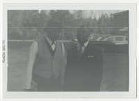 Two Men Standing Outdoors, December 1961