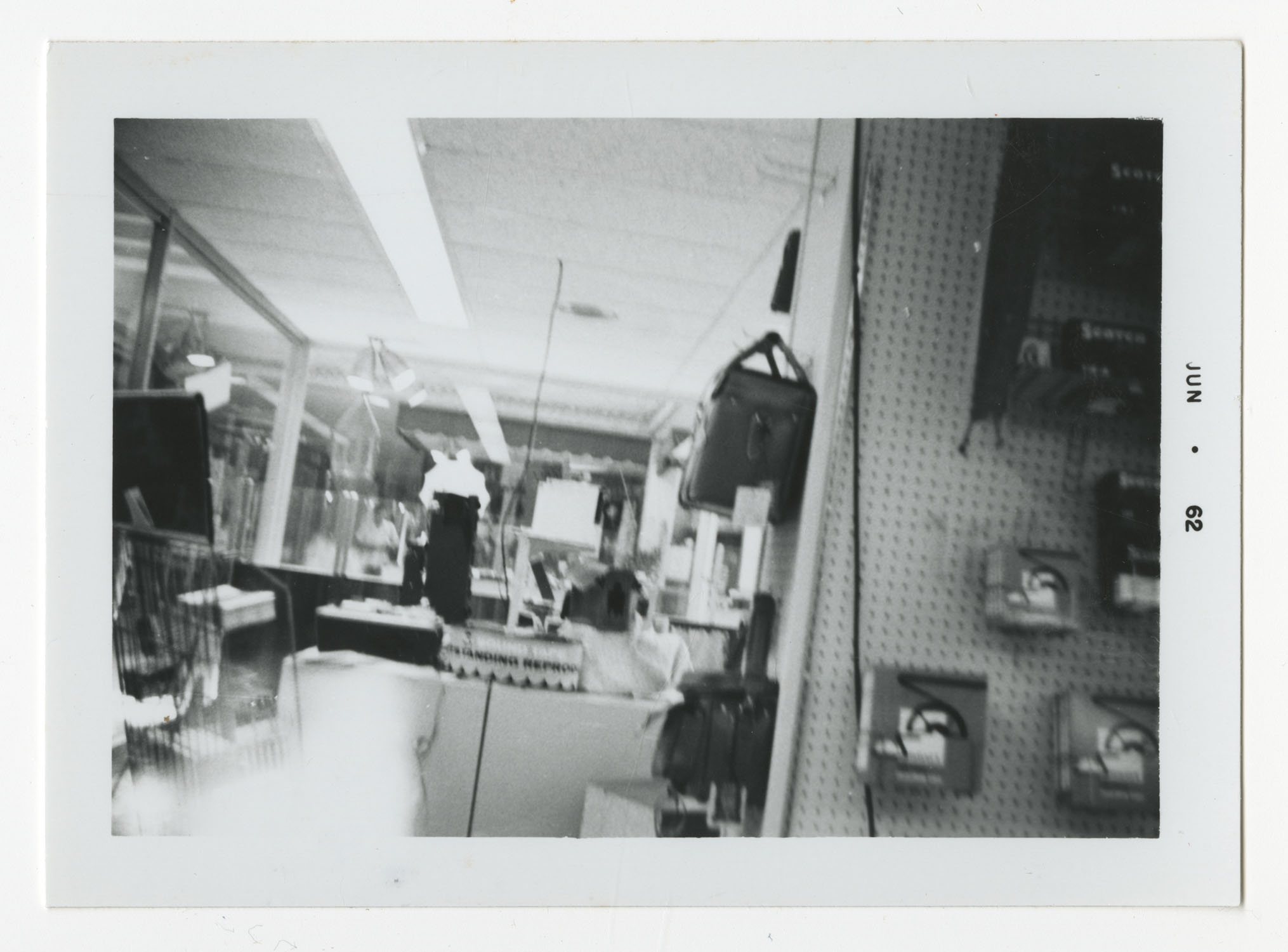 Interior of a Store, June 1962