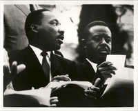 Martin Luther King, Jr. and Ralph David Abernathy