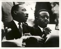 Martin Luther King, Jr. and Ralph David Abernathy