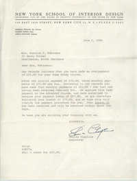 Letter from Bernice V. Robinson to Sherrill Whiton, Jr., April 26, 1964