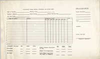 Citizenship School Monthly Attendance and Record Sheet