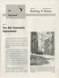 Be Informed, Renting A House, Part 4