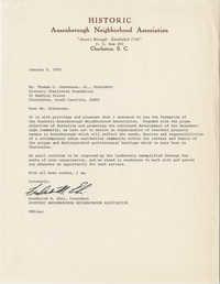 Letter from Frederick M. Ehni to Thomas C. Stevenson, Jr.