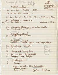 Notes on Ansonborough properties