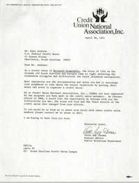 Letter from Vicki Ann Thomas to Esau Jenkins, April 30, 1971