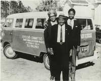 Esau Jenkins, Alfred Fields, and Rev. Willis Goodwin
