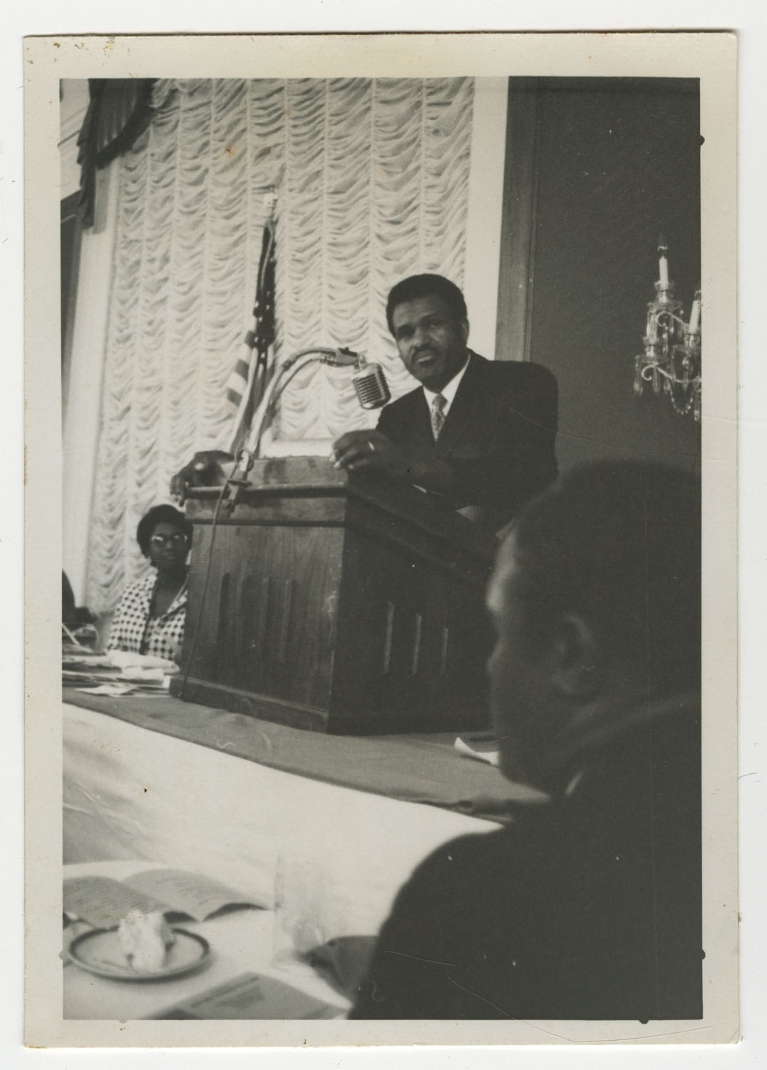 Septima P. Clark at Southern Christian Leadership Conference Retirement Banquet, 1970