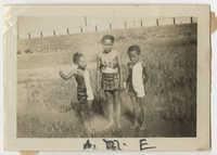 Three Children on Sullivans Island, July 4, 1941