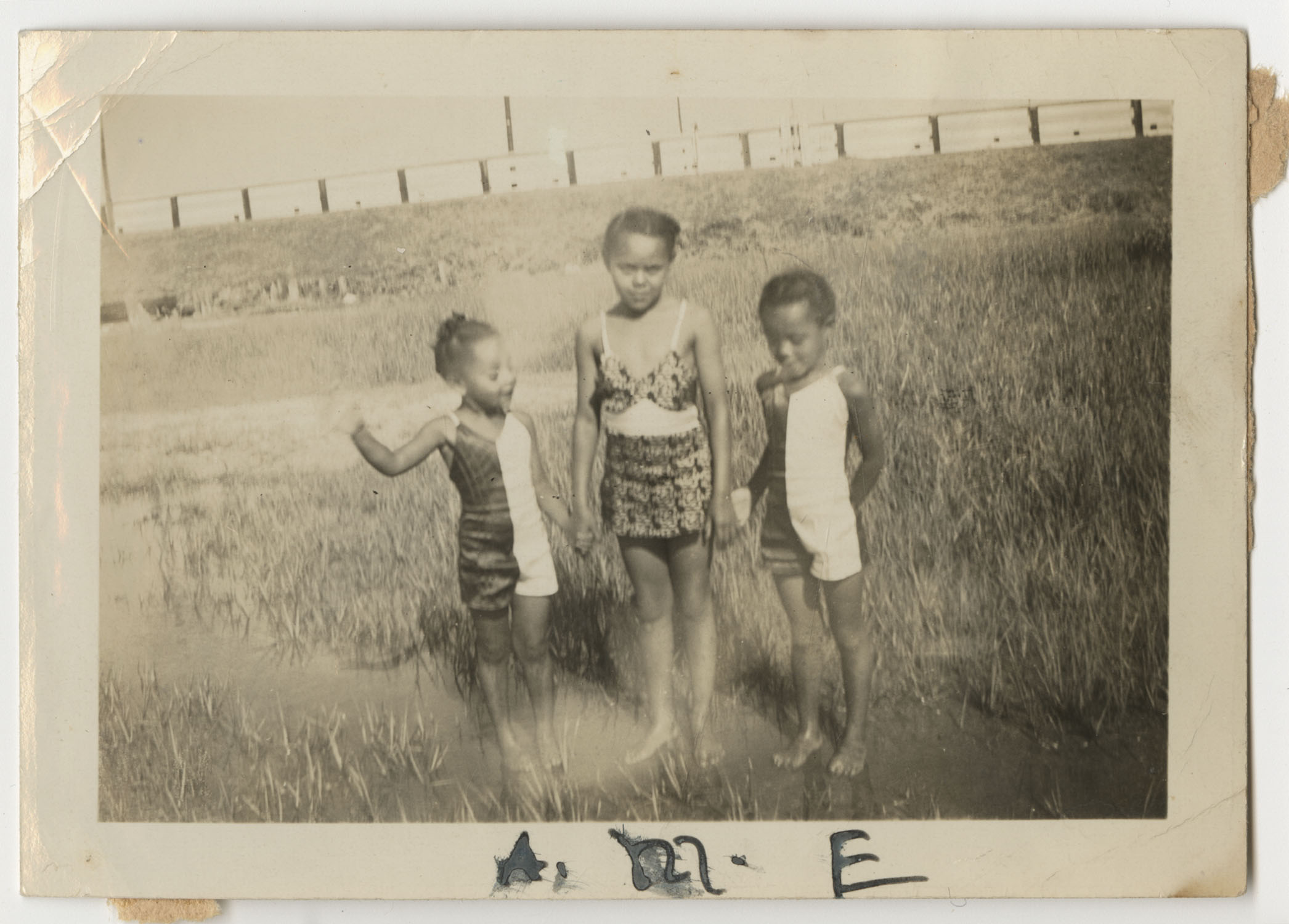 Three Children on Sullivans Island, July 4, 1941