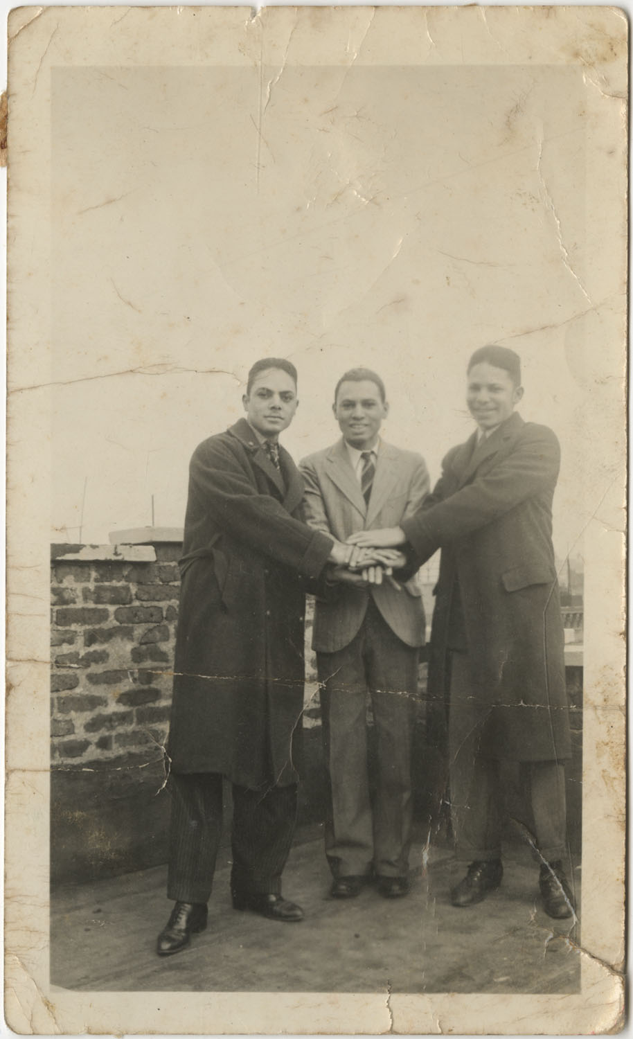 Three  Men Standing