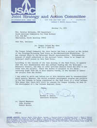 Letter from Norman E. Dewire to Bernice Robinson, October 15, 1971