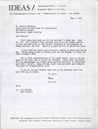 Letter from Ann Vick to Bernice Robinson, May 2, 1972